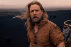"""Kadr z filmu """"Noe: Wybrany przez Boga"""" W tytułowej roli Russel Crowe."""