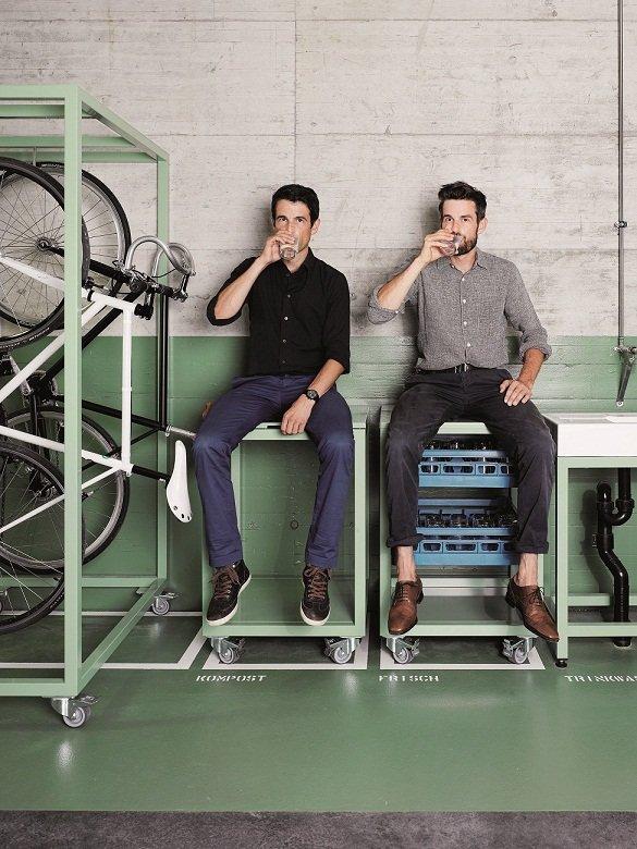 Założyciele marki - Markus i Daniel Freitag