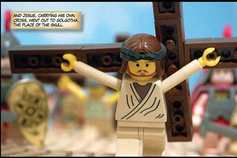 Jezus z Lego?