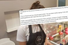 Pracownica restauracji Meat & Fit  rasistowskim zachowaniem obraziła klienta. Już tam nie pracuje.