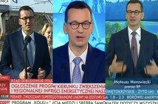 Twarz Mateusza Morawieckiego – najczęstszy obraz w TVP Info
