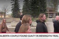 Para po ogłoszeniu wyroku