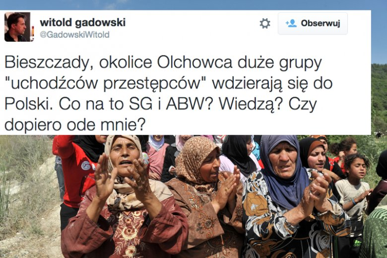 Uchodźcy w Bieszczadach?