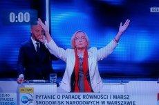 Krystyna Krzekotowska będzie na pewno jedną z bohaterek piątkowej debaty w Warszawie.