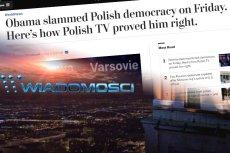 """""""The Washington Post"""" obnaża propagandowe manipulacje na rzecz PiS w Wiadomościach TVP."""