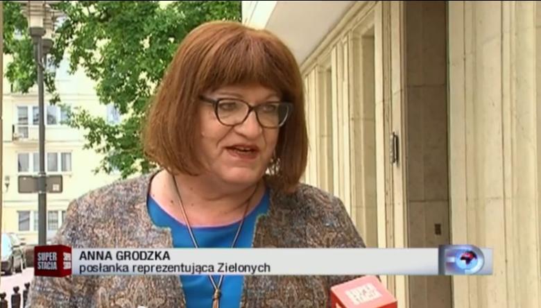 Anna Grodzka opowiada Superstacji o swoim przejściu do Partii Zieloni
