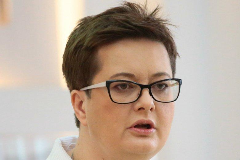 Katarzyna Lubnauer zarzuca kłamstwo Joannie Scheuring-Wielgus.