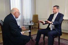 """Mateusz Morawiecki przekonywał w programie """"Conflict Zone"""", że prawo nie jest w państwie najważniejsze..."""