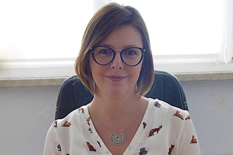 """Marta Zielińska jest psychologiem i założycielką gabinetu pomocy psychologicznej """"Harmonia Marta Zielińska""""."""