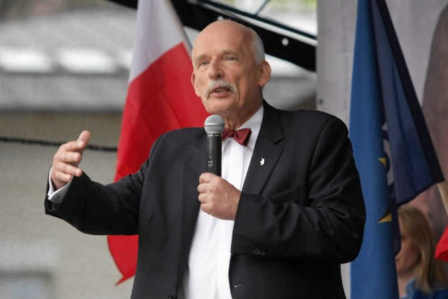 Janusz Korwin-Mikke chce sobie kupić trzy żony w odpowiedzi na apel papieża?