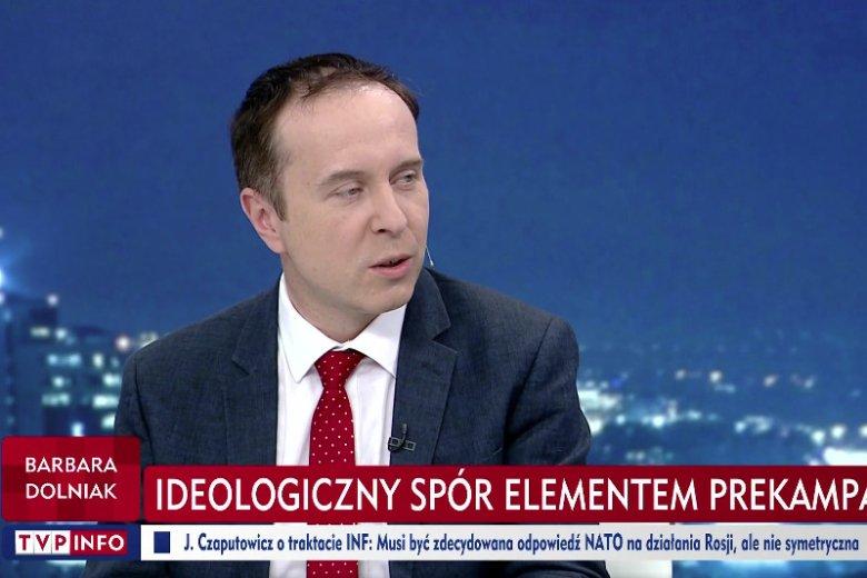 Miłosz Manasterski to kolejny ulubiony ekspert TVP.