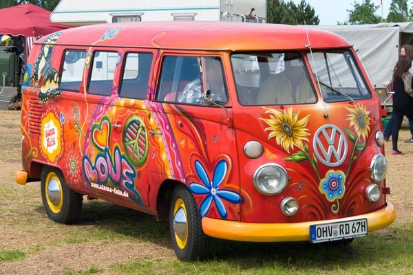 Volkswagen Transporter Flower Power