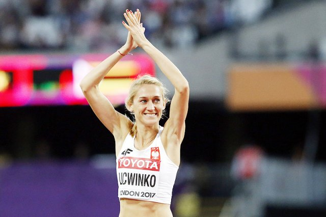 Kamila Lićwinko zdobyła brązowy medal w skoku wzwyż na Lekkoatletycznych Mistrzostwach Świata w Londynie.