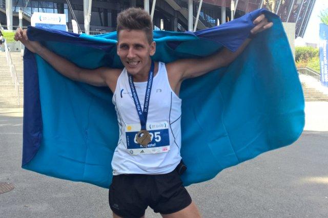 Krzysztof Majak - cel osiągnięty - przebiegłem maraton :)