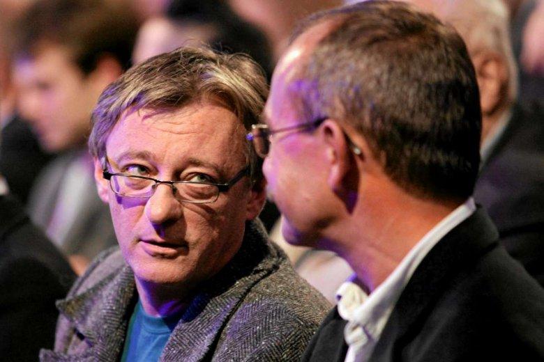 Janusz Rudnicki na gali rozdania nagrody literackiej Nike