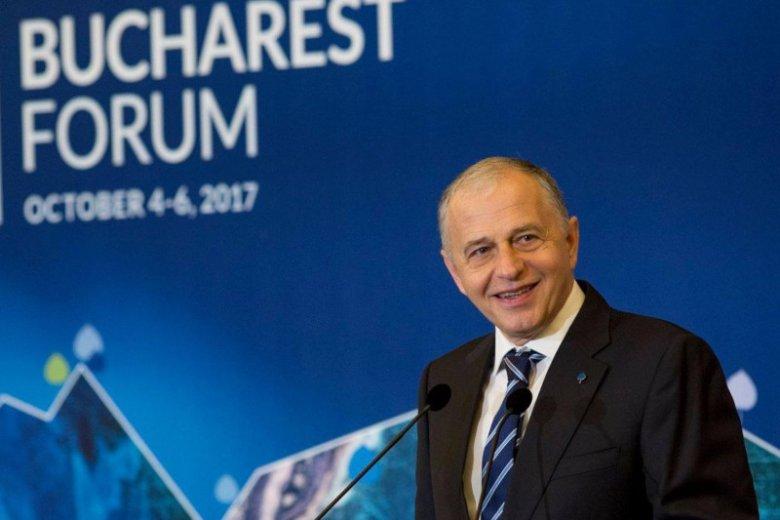 Mircea Geoană – nowy zastępca sekretarza generalnego NATO z Rumunii.