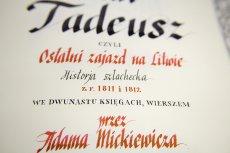 """Pasjonat własnoręcznie przepisał całego """"Pana Tadeusza"""". Zajęło mu to rok."""