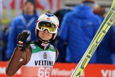Niemcy, Oberstdorf – Kamil Stoch podczas pierwszego konkursu Turnieju Czterech Skoczni.