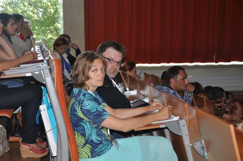 Beata i Jacek Staniszewscy - inicjatorzy powstania Programu Dobrej Edukacji na konferencji Techniki Dobrej Edukacji. Więcej zdjęć z konferencji: https://www.facebook.com/DobraEdukacja