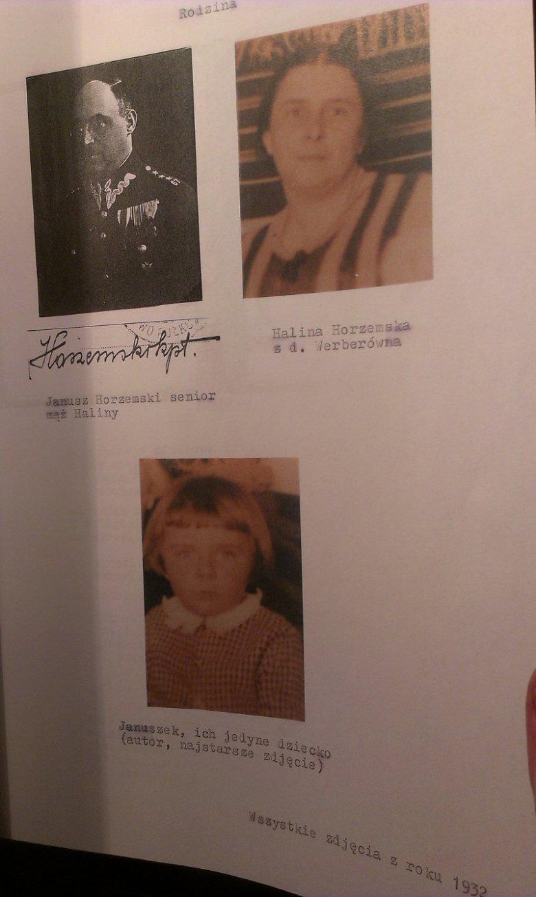 Zdjęcie rodziny Horzemskich.