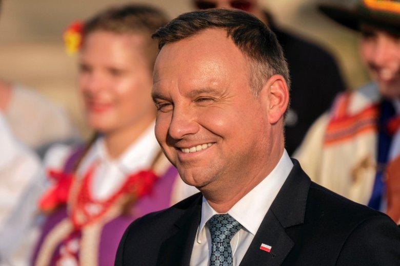 Andrzej Duda nazwał UE wyimaginowaną wspólnotą, z której dla Polaków niewiele wynika.