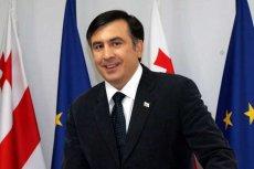 Na zdjęciu obecny prezydent Gruzji Micheil Saakaszwili. Czy jego partia Zjednoczony Ruch Narodowy odda parlament Bidzinie Iwaniszwilemu?