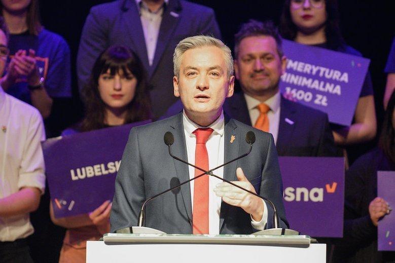 Robert Biedroń jednak chce koalicji z całą opozycją.