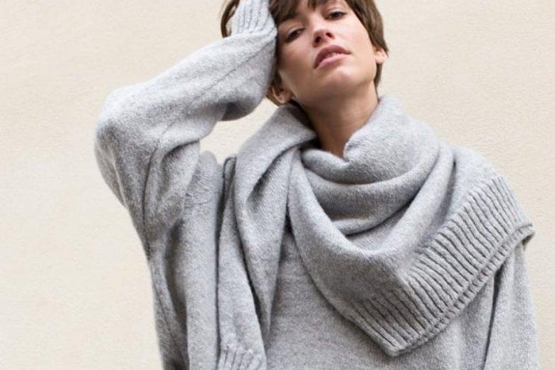 Sweter zarzucony na sweter. Dobre połączenie?
