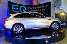 Mercedes EQC to auto w pełni elektryczne.