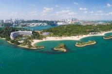 Singapurska wyspa Sentosa – tu 12 czerwca dojdzie do spotkania na szczycie Donalda Trumpa i Kim Dzong Una.