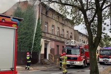 Policja zatrzymała 61-latka w związku z pożarem w Inowrocławiu.