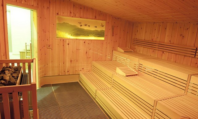Wizyta w saunie nie powinna odbywać się bezpośrednio po treningu