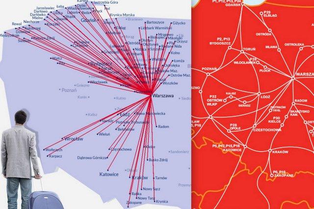 Dokąd można pojechać z Warszawy?