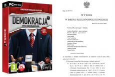 """22 kwietnia 2016 roku na polskim rynku zadebiutowała ekskluzywna edycja kolekcjonerska gry """"Demokracja 3"""", do której przygotowano scenariusze poruszające aktualne wydarzenia w polskiej polityce"""