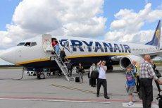 Linie Ryanair oferują bilety do europejskich miast w promocyjnych cenach