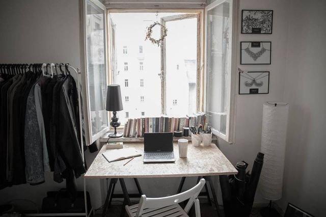 Pokój projektanta Ralpha Kruhlika.
