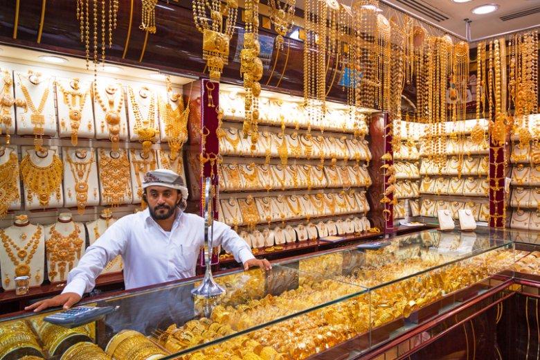 W Dubaju złoto można dostaćzrzucając wagę albo przesiadając siędo komunikacji miejskiej