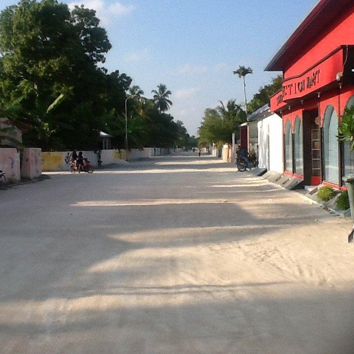 Muzułmańska wioska Mehedhoo, Addu Atol, Malediwy