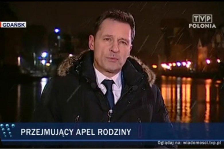 """W głównym wydaniu """"Wiadomości"""" TVP zasugerowano, że część odpowiedzialności za nieodpowiednie zabezpieczenie koncertu w Gdańsku, na którym zaatakowano Pawła Adamowicza, może ponosić Wielka Orkiestra Świątecznej Pomocy."""
