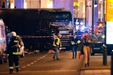 W strzaskanej kabinie ciężarówki z Gryfina znaleziono ciało Polaka.  Kierowca, która taranował ludzi uciekł z miejsca.