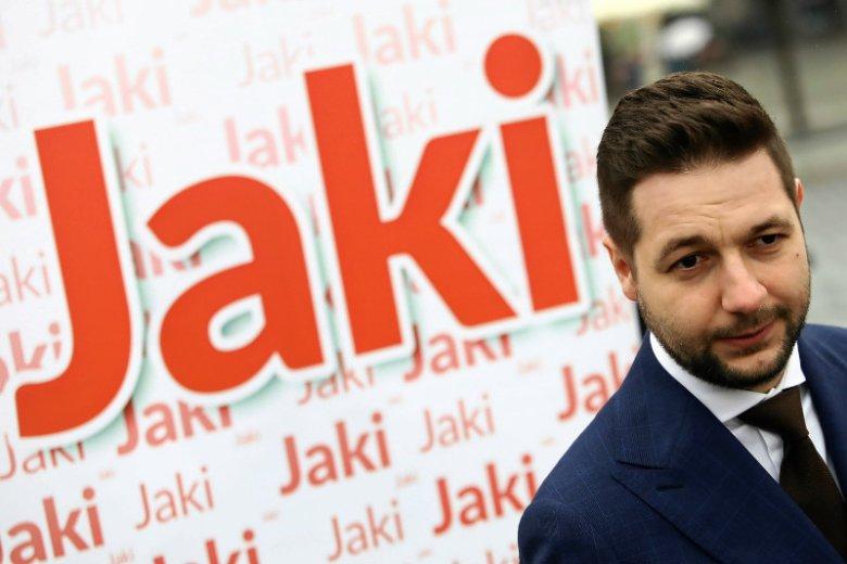 Patryk Jaki nerwowo zareagował na internetową przeróbkę mapki Polski z wieczoru wyborczego.
