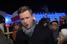 Radomir Witt został zaatakowany przez zwolenników PiS podczas miesięcznicy smoleńskiej w 2015 r.