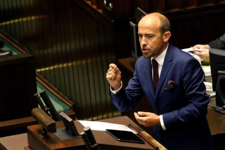 Budka mówił w Sejmie o chronieniu księży-pedofilów. Stanie za to przed komisją etyki poselskiej.