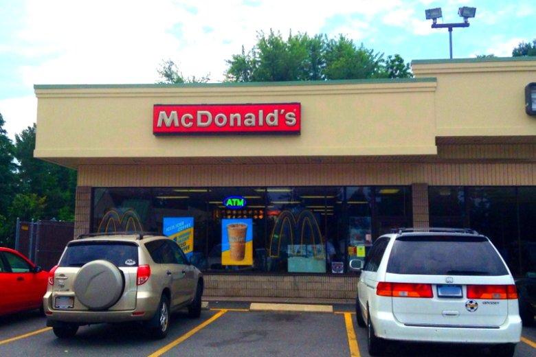 Amerykańskie restauracje sieci McDonald's w ogóle nie przypominajątych polskich.