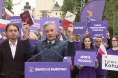 Robert Biedroń zaapelował na Jasnej Górze o rozdział państwa od Kościoła. Powiedział, że politycy zbyt często kierują się w Polsce Biblią, a zbyt rzadko konstytucją.