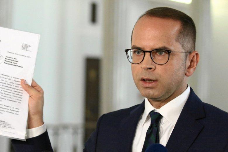 Michał Szczerba pogrzebie plany prezesa PiS ws. przyszłości Srebrnej?