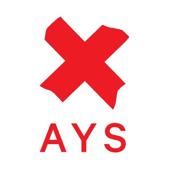 X AYS - Znak zaprojektowany przez Full Metal Jacket