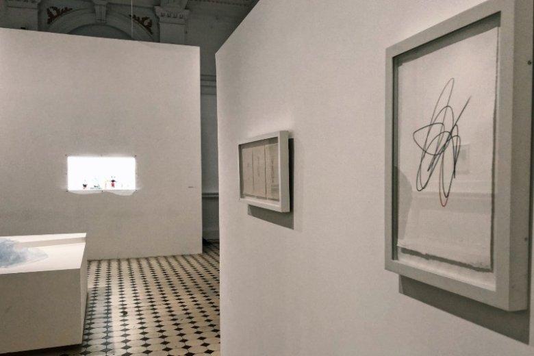 Na wystawie Sytuacje zobaczymy grafiki, za które artystka została nagrodzona w 1986 roku na Międzynarodowym Biennale Grafiki w Krakowie