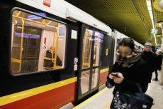 Ze stacji metra Dworzec Wileński wyprowadzono około 100 osób.