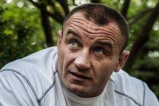 Mariusz Pudzianowski - kiedyś Strongman, teraz zawodnik MMA, który robi szybkie postępy